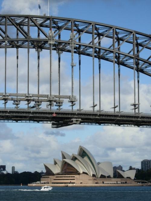 bridge opera from ferry